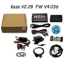 Newest KESS V2 V2.28 OBD2 Manager Tuning Kit Unlimited Token Kess V2 FW V4.036 Master Version ECU Chip Tuning with J-Link LR20