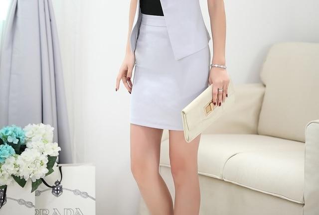 Nouveau formelle uniforme style mode slim jupes pour dames de