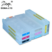 7880 9880 Show ink Level Chip Empty Refillable Ink Cartridges For EPSON Stylus Pro 7880 9880 Printer T6041-T6047 T604