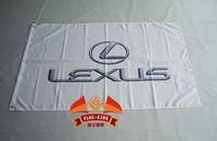 Автомобильный брендовый флаг lexus 3x5 футов 150x90см автомобильный брендовый баннер lexus 100D полиэстер флаг