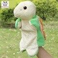 Formas de animales Tortugas Niños niños muñeco de peluche, Muñecos bebé Marioneta de Mano juguetes de Navidad regalo de cumpleaños de Peluche de Juguete
