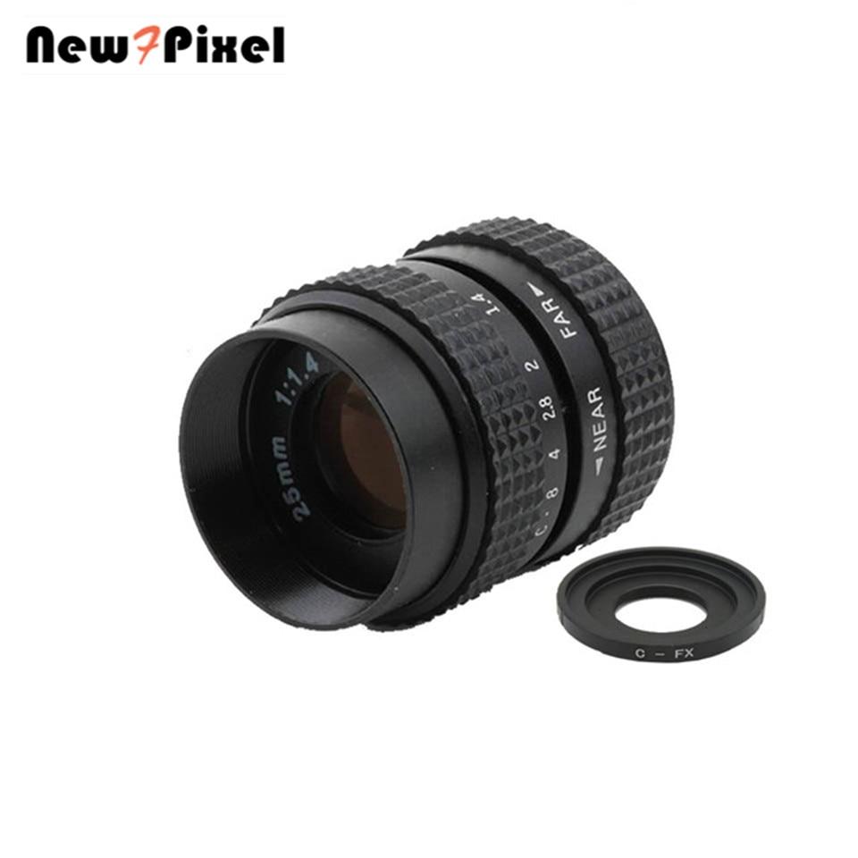 Fujian 25mm F1.4 CCTV lens C-FX Adattatore C Mount Ring per Fuji Fujifilm X-A2 E2 x X-E1 X-Pro1 X-M1 X-A1 X-T1 C per FX fotocamera