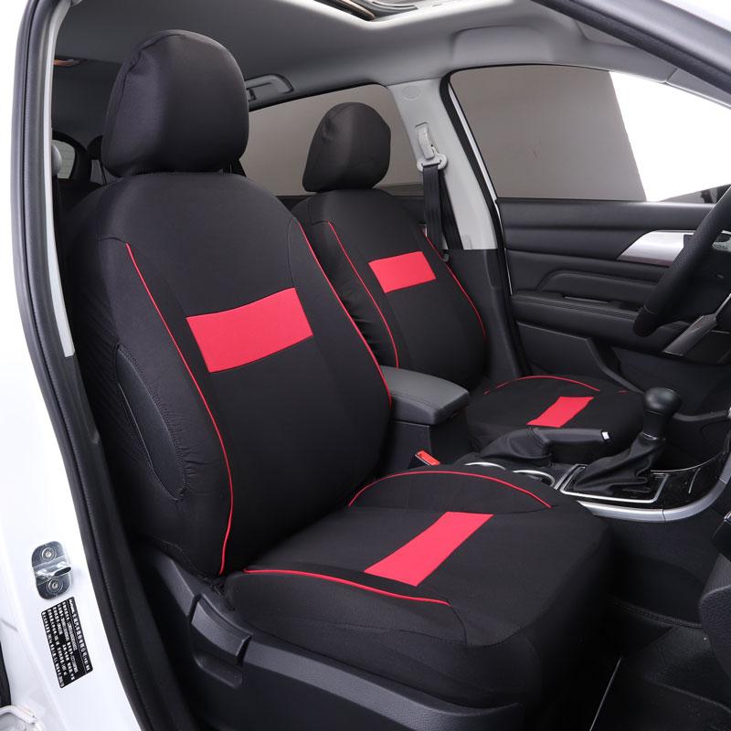 купить car seat cover seats covers for hyundai accent elantra santa fe solaris sonata tucson of 2006 2005 2004 2003 онлайн