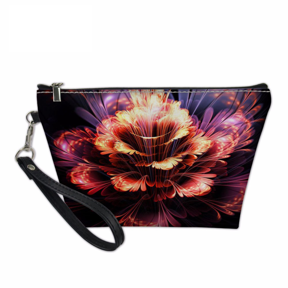 Noisydesigns Women Cosmetic Bags for Ladies Beauty Makeup Bag Vintage Floral Travel Organizers Bags Make Up Case Toiletry Bag