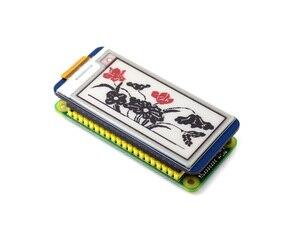 Image 4 - 2.13inch E Ink Display HAT 212x104 E paper Module for Raspberry Pi 2B/3B/Zero/Zero W Red Black White Three color SPI Interface