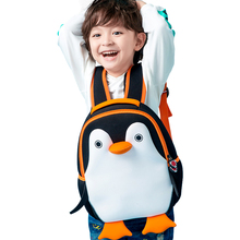 Fashion Cute Penguin School Backpack for Boys Girls Kinderga