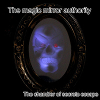 Reality the chamber of secrets escape props magic mirror magic mirror horror theme organs