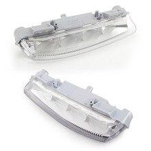 Left/Right/1pair White Car Driving Lamp Daytime Running Light LED Fog Light Lamp For Mercedes W204/S204 W212 R172