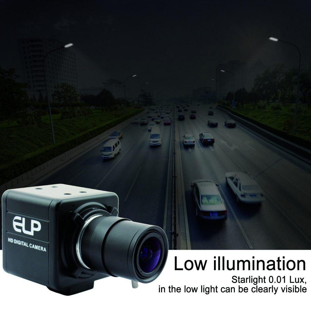 ELP 960P 1.3 Megapixel  indoor Surveillance 2.8 12mm Varifocal lens Mini CCTV Low light USB Camera for Android Linux Windows|camera for android|low light usb camera|usb camera for android - title=