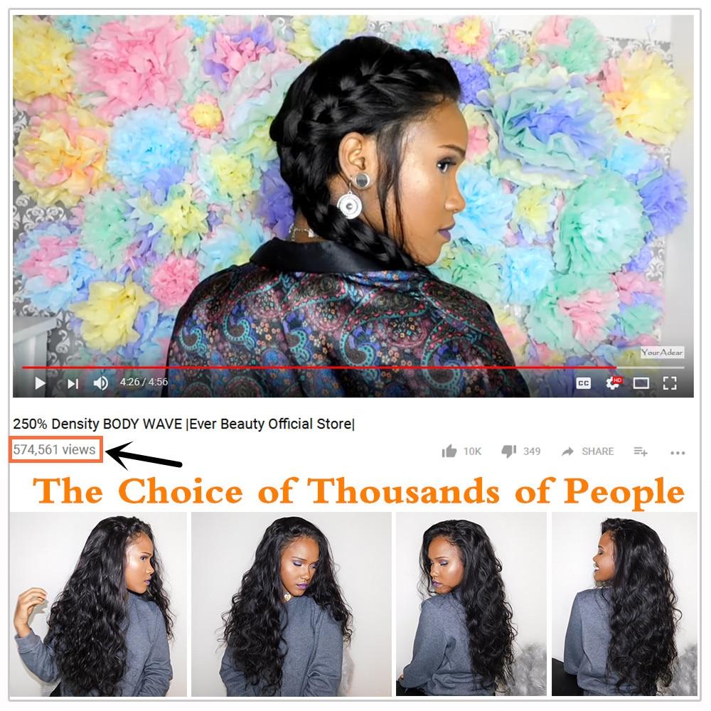 Glueless Full End Lace Front Pelucas de cabello humano para mujeres - Cabello humano (negro) - foto 2