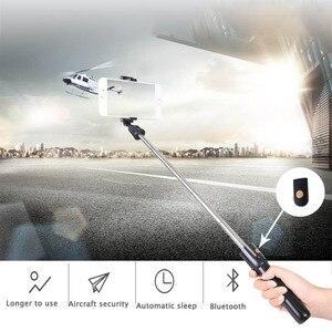 Image 3 - Bluetooth Selfie מקל חצובה להארכה חדרגל מתכוונן Selfie מקל עבור Xiaomi סמסונג מיני חצובה עבור iPhone Huawei