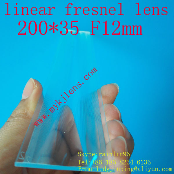 200 * 35mmF12mm lineární fresnel objektiv pro dopravu bez - Měřicí přístroje - Fotografie 4