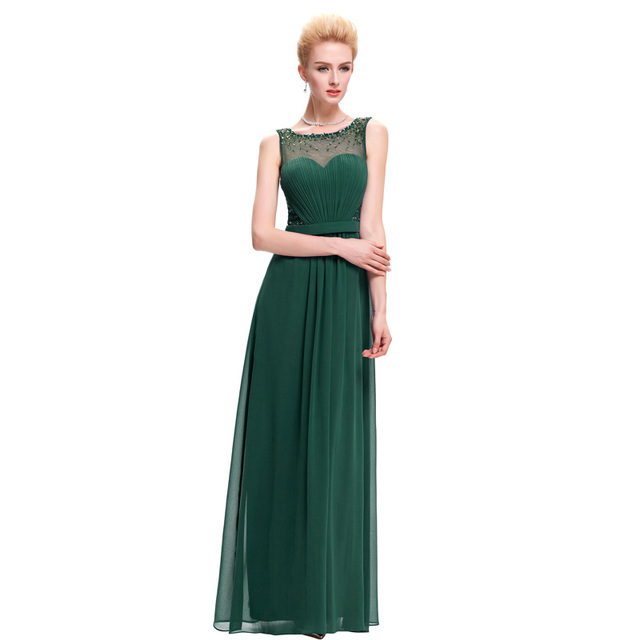 Kate Kasin White Backless Evening Dresses Draped with Belt Slim A Line Chiffon Long Ladies Evening Gowns Formal Dress Black 0064