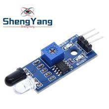 1 шт. Шэньян ИК инфракрасный обходом препятствий Сенсор модуль для Arduino «Робокар Поли» 3-жильный светоотражающий фотоэлектрический Новогодняя фарфор