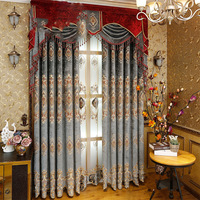 Cotton Linen Modern Curtains For Living Room Tab Top Curtains Crochet Lace Curtain Panel Drapes Home