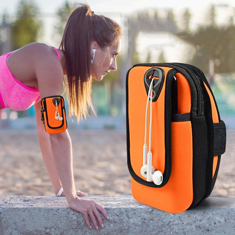 Armband Wrist-Bag Phone-Arm-Bag Fitness Outdoor Waterproof Running Women Mobile-Phone