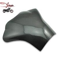 Marka Yeni Motosiklet Karbon Fiber 3D Tank Pad Koruyucu Için YZF R1/YZF-R1 2004-2006 2005
