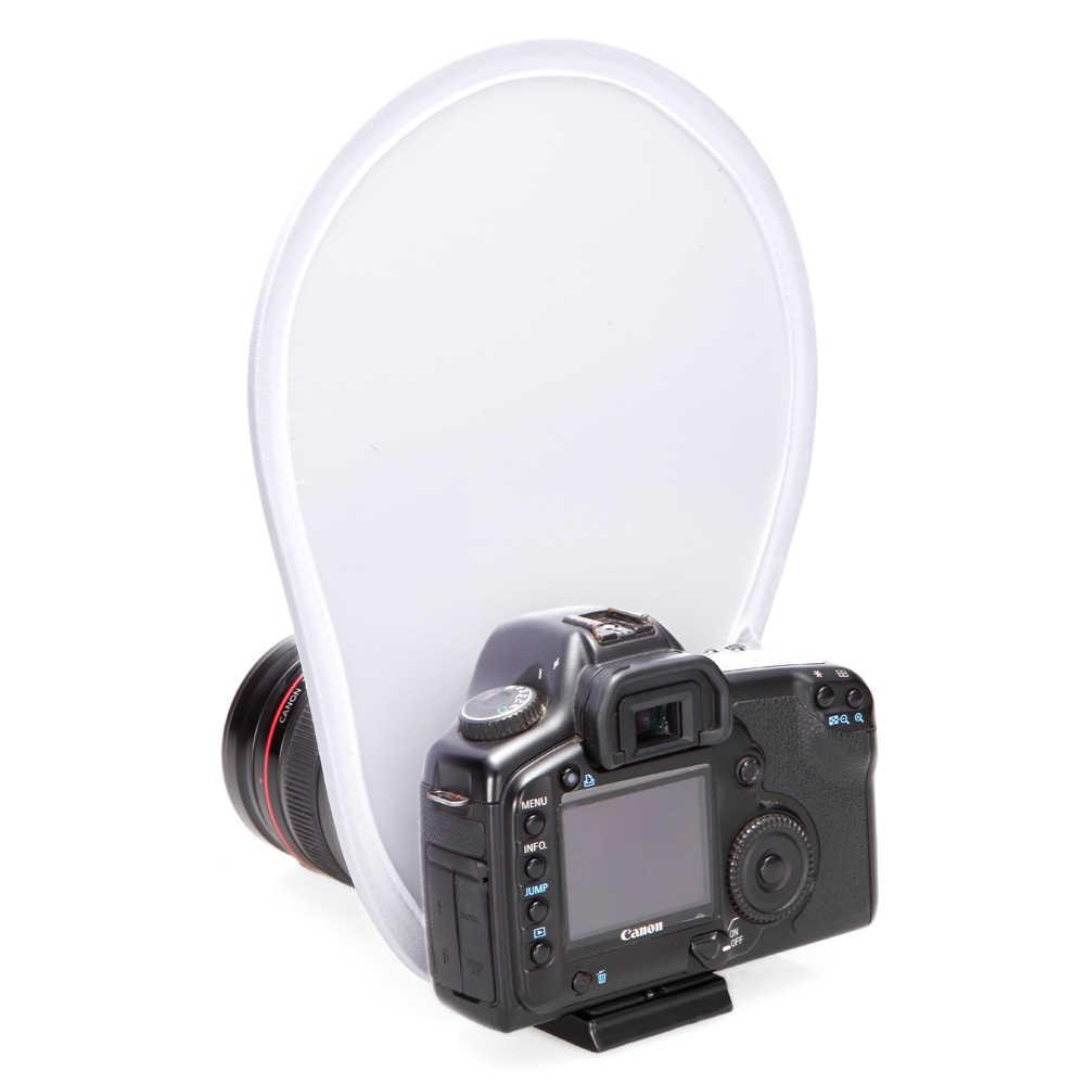 ユニバーサル折りたたみ写真フラッシュキヤノン EOS M デジタル一眼レフ用レンズフラッシュディフューザーリフレクター M10 M100 M3 M5 M50 (キス M) m6 R RP