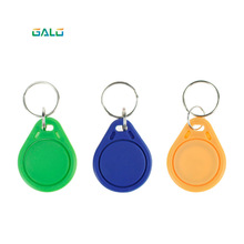 цены 10pcs RFID ABS smart tags multicolou keyfobs 13.56 MHz IC keychains NFC tags ISO14443A MF Classic® 1k access control keycard