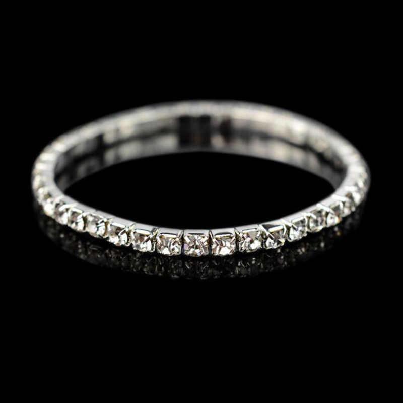 SL003 moda kryształ bransoletka bransoletka łańcuchy kryształ złoty Strand bransoletki dla kobiet damska biżuteria akcesoria ślubne 2019 nowy
