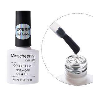Image 4 - 1 botella de 8 ml de pegamento de lámina adhesiva para uñas, adhesivos de lámina Profesional, Diseño de transferencia de papel, accesorio para decoración de uñas, herramientas