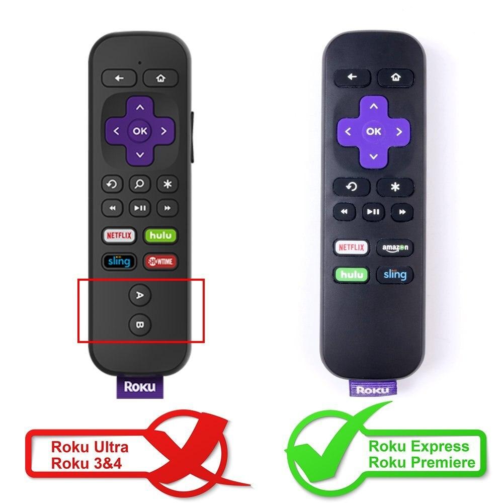 Original SIKAI Case for ROKU IR remote Standard Remote case for ROKU  Express case for Roku Premiere 4K Streaming Media Player
