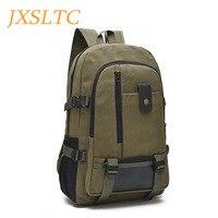 JXSLTC Canvas Men S Anti Theft Backpack Bag Vintage 14 Inch Laptop Notebook Backpack For Men