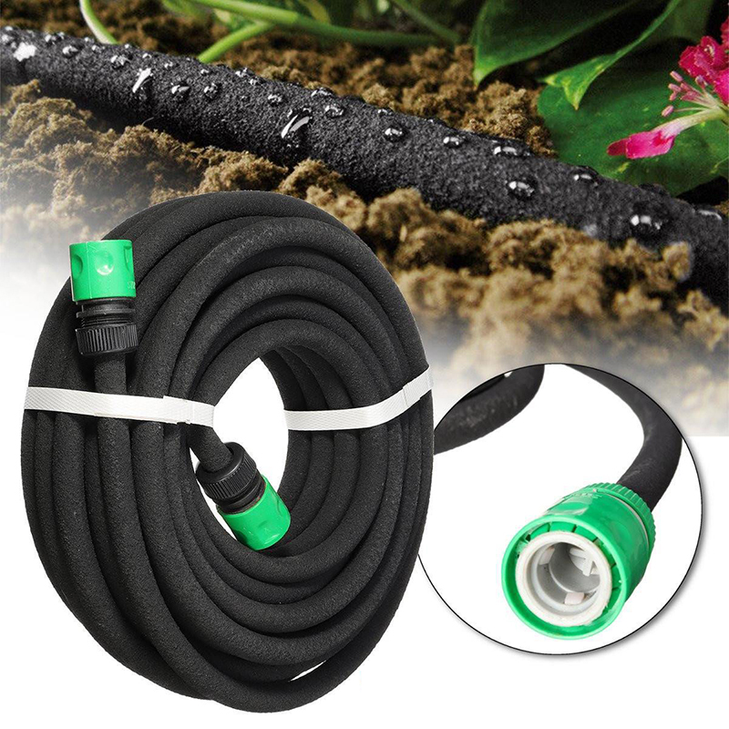 7.5/15m Gardening Soaker device watering hose Agriculture plant Drip irrigation Kits Orchard micro-spraying water seepage pipe