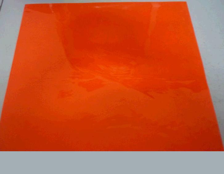 24c Prismatic PVC reflective slice reflective PVC material fluorescent orange