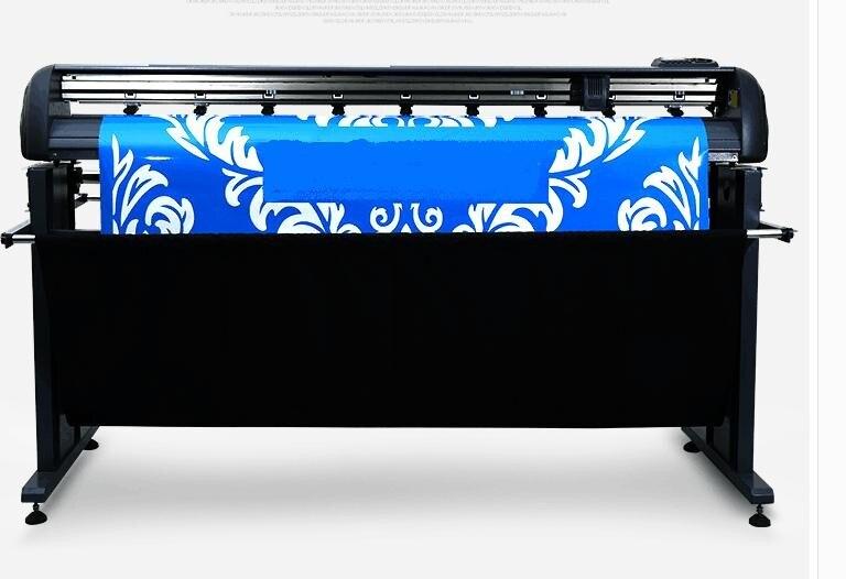 NEW YH1350IIP 48 plotter vinyl contour cutting machine servo motor Dragoncut software