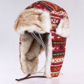 winter bomber hats men Russian new faux fur Earmuffs brand warm lei feng caps women ski thickened cold-resistant Snow earflaps