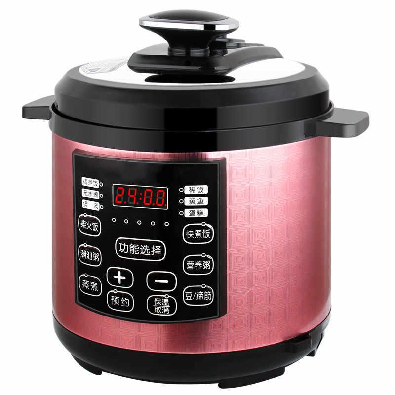 Pressure Cooker Listrik Listrik Domestik Pressure Cooker dengan Double Kantong Empedu 4L Smart Power 3-4 Orang Baru