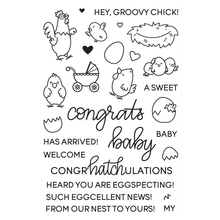 Chicken Transparent Clear Silicone Stamp/Seal for DIY scrapbooking/photo album Decorative clear stamp
