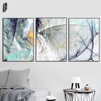 Landscape Abstract Canvas Paintings Modern Wall Art Poster And Prints Nordic Wall Pictures For Living Room