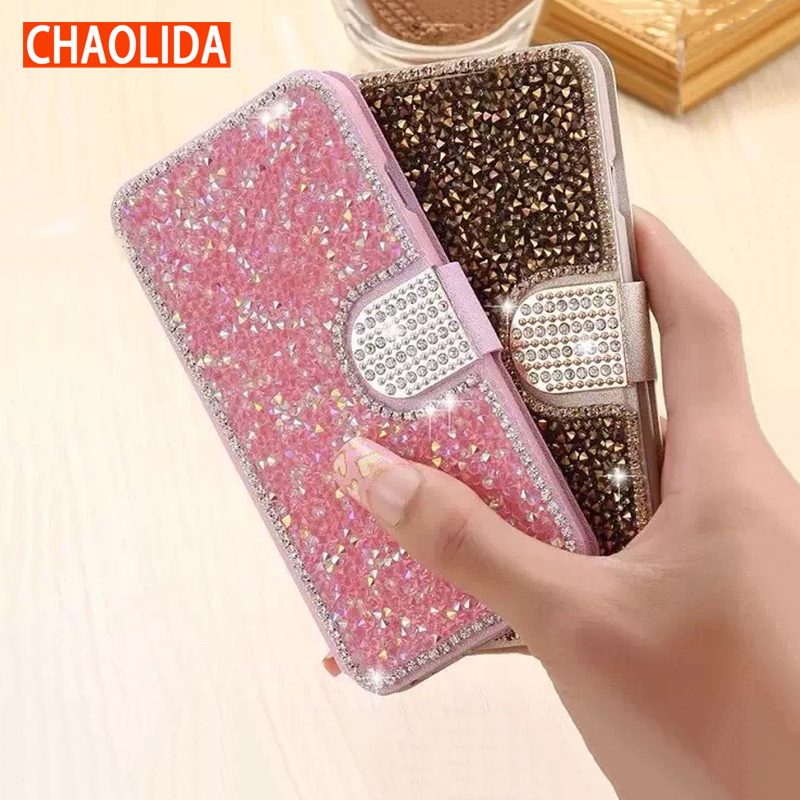 designer fashion 295b2 7e6de US $13.8 |CHAOLIDA Luxury Flip Cover for Apple IPhone 6 6s 7 8 Plus Leather  Case Fancy Women Phone Case Card Pocket Anti Stress-in Fitted Cases from ...
