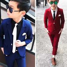 New Arrival 2019 Spring Wedding Suit for Boys Blazers Pants