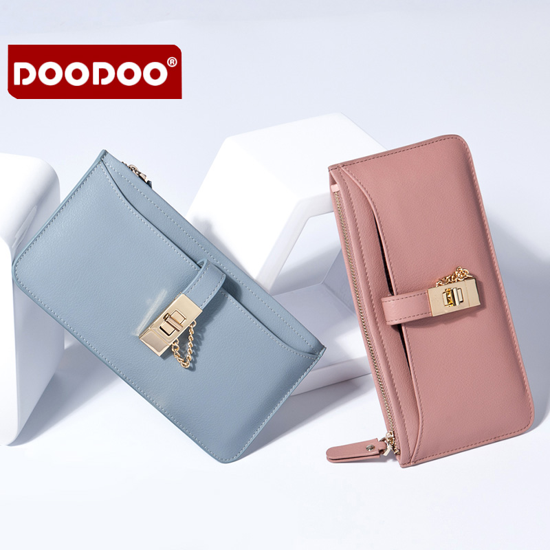 ФОТО Genuine Leather  Purses for Ladies  Female Billfold Large Capacity Wallet with Zipper Long Pocketbook New Luxury Brand Designer