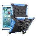 2 en 1 TPU + PC Araña Heavy Duty Armor Híbrido Pata de Cabra a prueba de golpes caso de la cubierta del sostenedor del soporte para apple ipad air 5 9.7 pulgadas Tablet