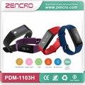 Distancia calorías Contador de Pasos Podómetro Del Sensor Del Ritmo Cardíaco de Bluetooth Pulsera