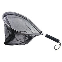 TOPIND Landing Net Catch And Release Nets Scoop Brail Nylon Mesh Netting For Fly Trout Kayak