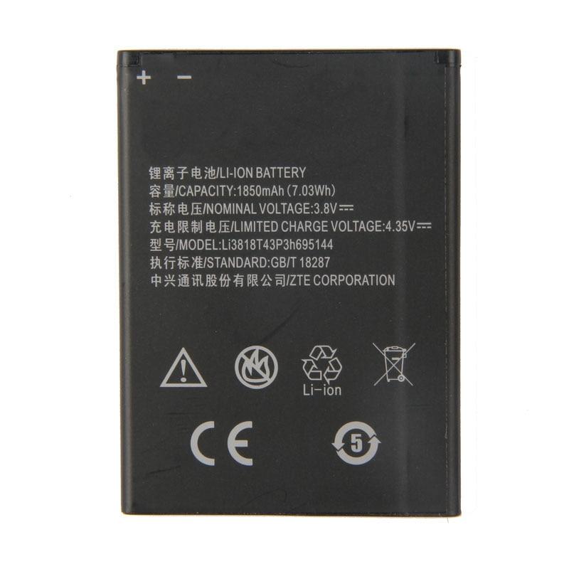 Оригинальный аккумулятор Li3818T43p3h695144 для телефона ZTE Blade G Lux V830w Kis 3 Max 1850 мАч