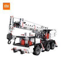 Xiaomi rice rabbit building block crane model blocks children car boy assembled intelligence toy