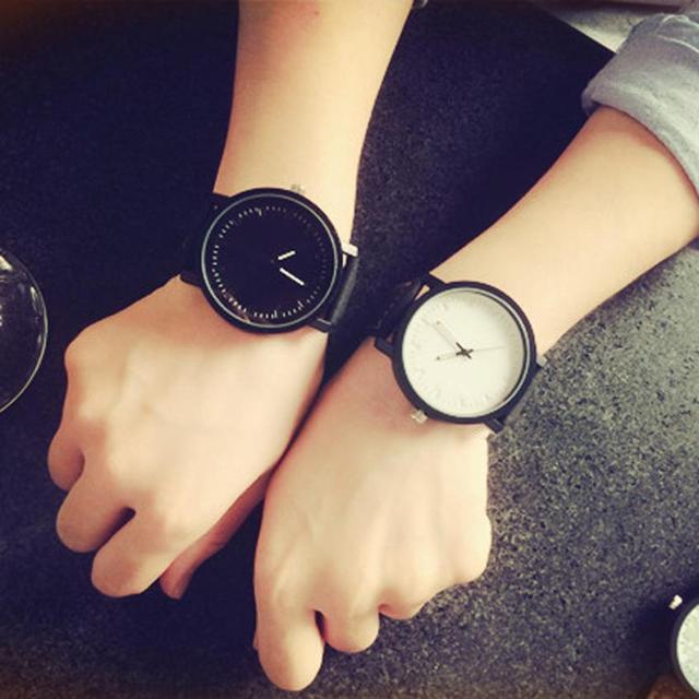 2017 clock men's Women' watches Unisex Men Women Quartz Analog Wrist Watch Watch