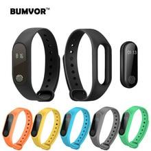BINZI Smart Wristband M2 Bracelet Heart Rate Monitor Pedometer Waterproof Bluetooth For iOS Android Men Women
