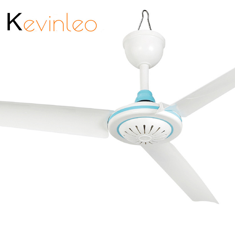 Powerful Wind Ceiling Fan 12V 6W Air Cooling Cooler 3 Blades foer Home Office цена