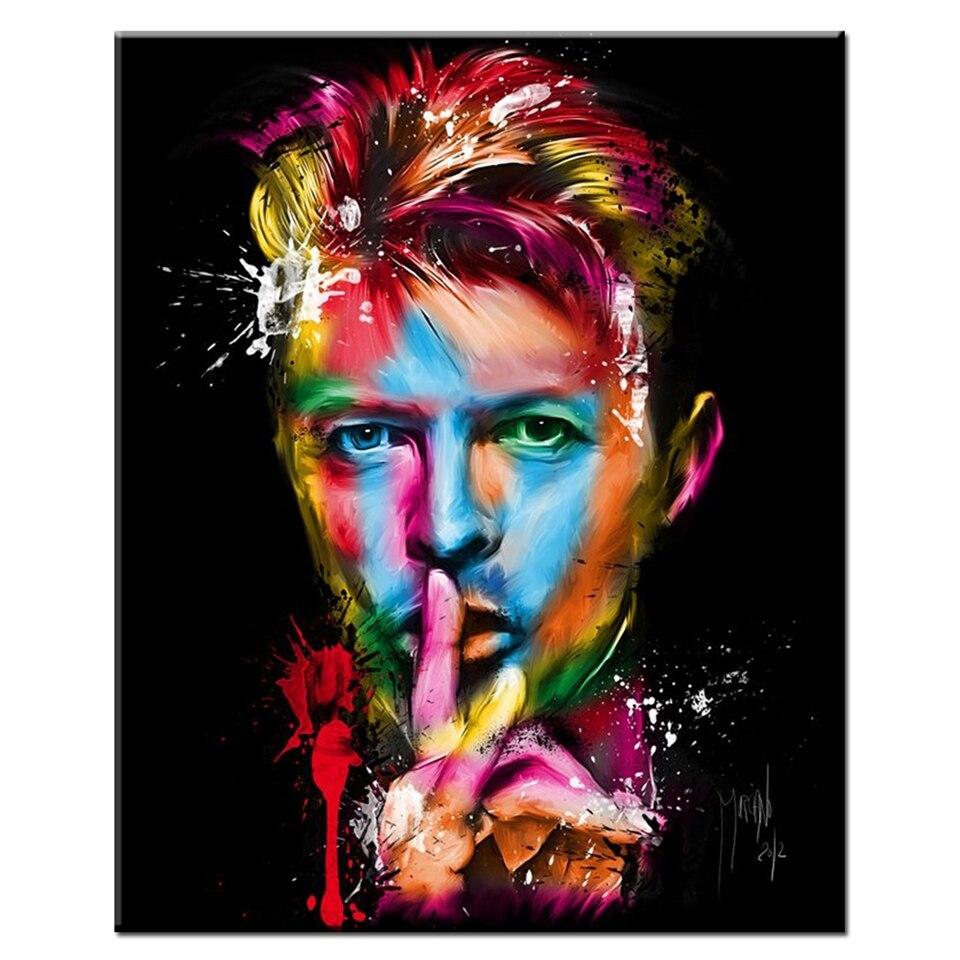 David Bowie Singer Songwriter Amazing Art Silk Poster 12x18 24x36 inches