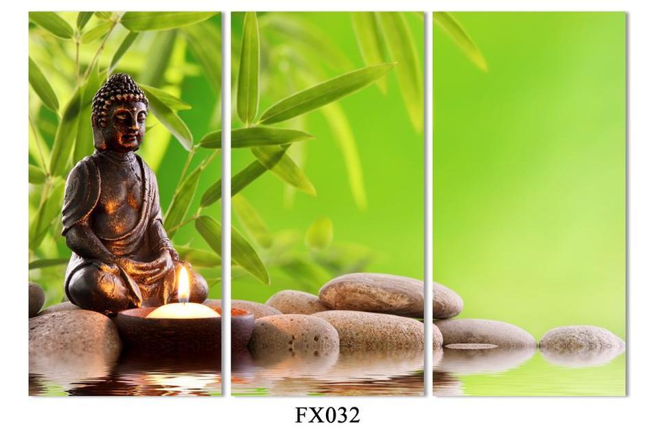 3 Peça Frete Grátis Venda Quente Moderna Da Parede Pintura Budismo o rosto de Buda Home Decor Art Imagem Pintura em Canvas impressões