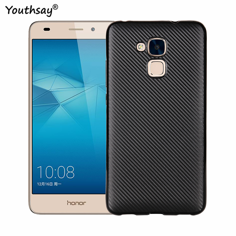 Huawei Honor 5C Case Huawey Honor 5C Armor Luxury Silicone Phone Cases For Huawei Honor 5C Honor 7 Lite Huawei GT3 Shell Coque(China)