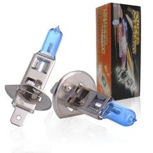 TXVSO8 2x Blue Headlights Top Quality Auto Halogen Bulbs 12V Car Lamps 100w H1 H3 H4 H7 H11 9005 9006 Super Bright 5000k