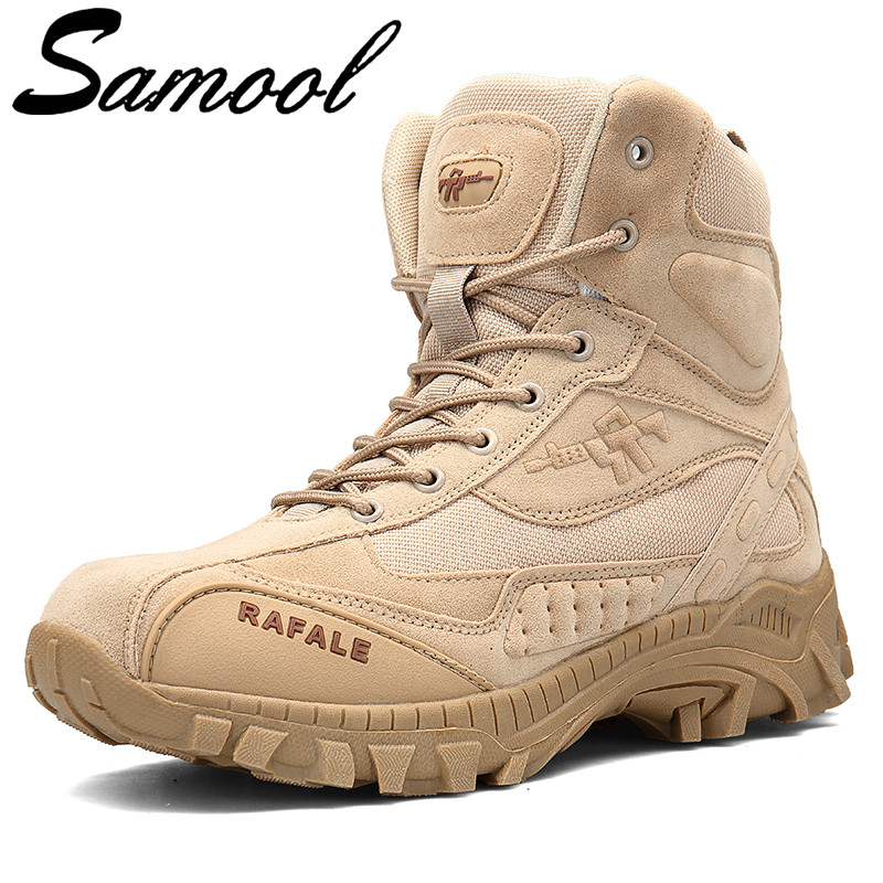 цены Winter Autumn Men Military Boots Special Force Tactical Desert Combat Man Ankle Boats Army Work Shoes Leather Snow Boots Aux3